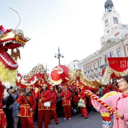 La comunidad china desfilará con dragones por el centro de Elche