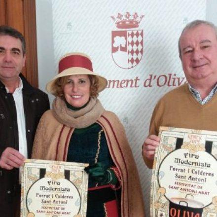 Oliva celebra el 20 Aniversari de la recuperació de les Calderes en el Porrat de Sant Antoni, de l'11 al 13 de gener