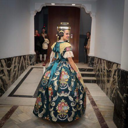 Marina Civera aposta pel Blau Atlantis el dia de la seua exaltació