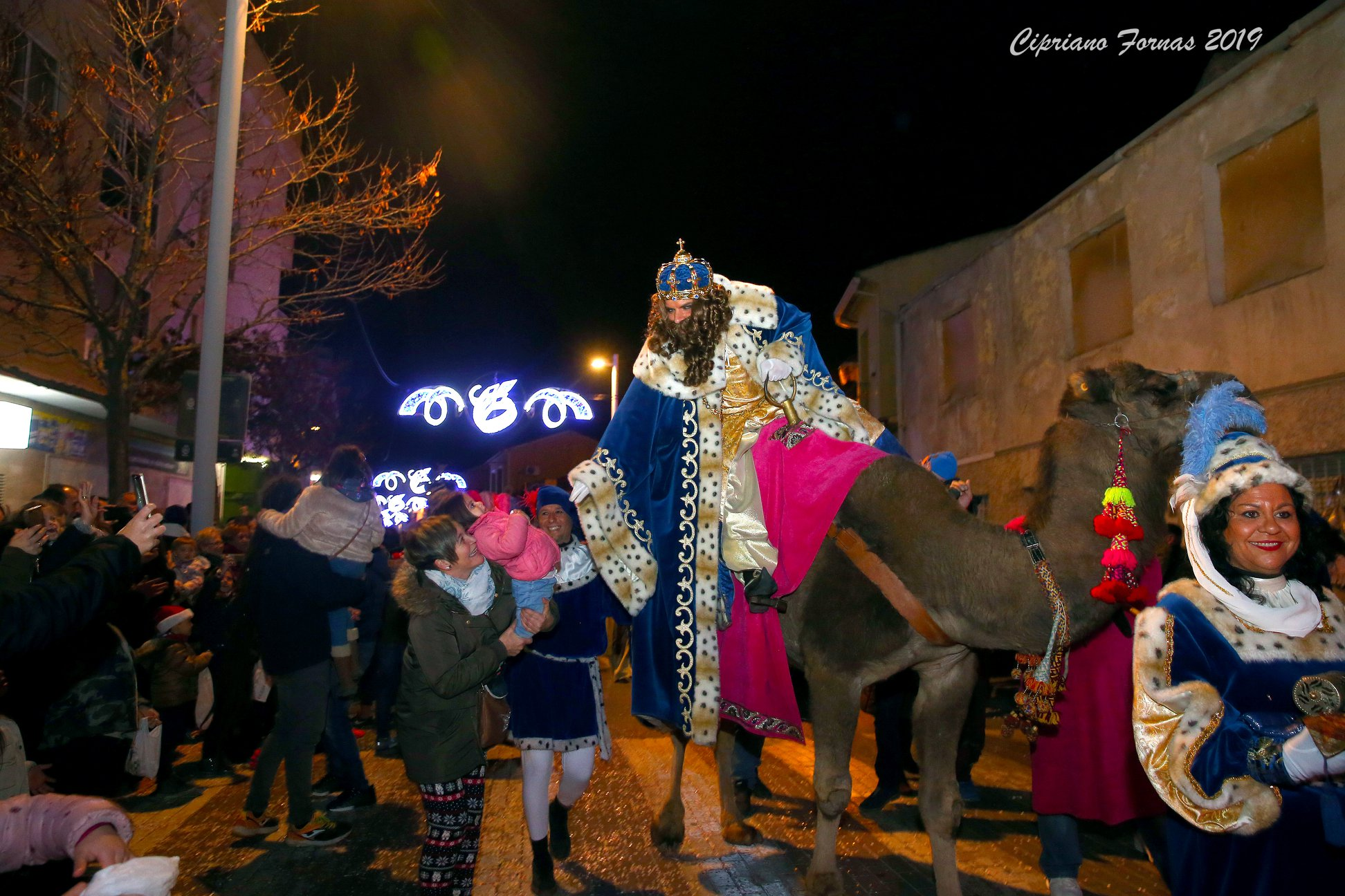Cabalgata de los Reyes Magos de Elda