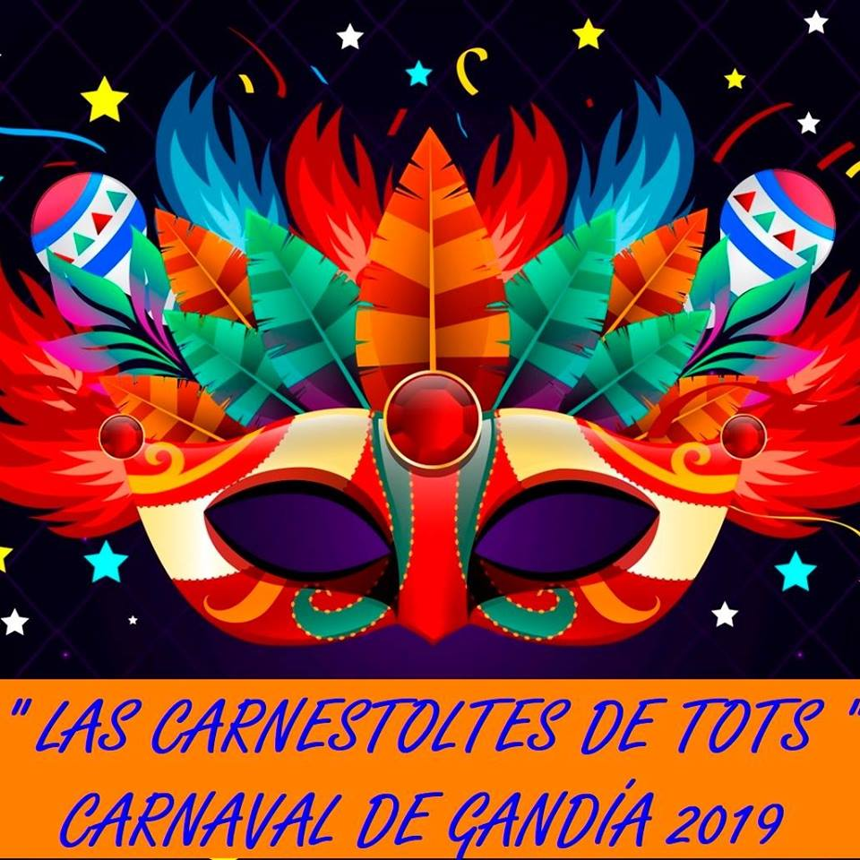 Gandia celebra el seu primer Carnestoltes multicultural