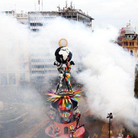 València apuesta por unas fallas con más pirotecnia