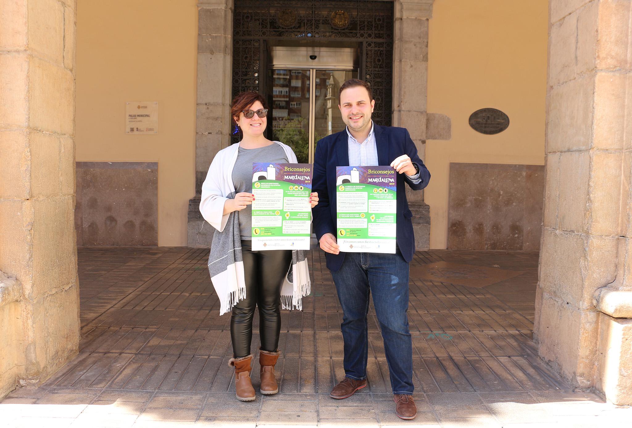 Castelló llança 'briconsells' per a evitar l'abús d'alcohol i altres drogues en Magdalena